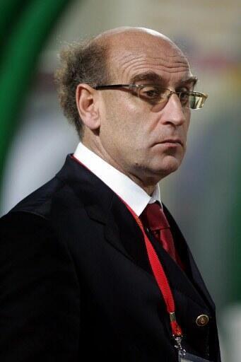 Patrice Neveu, l'ancien sélectionneur français de l'équipe de Mauritanie.