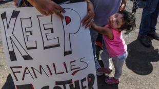 Plus de 700 enfants séparés de leur famille à leur arrivée au Etats-Unis n'ont toujours pas retrouvé leurs parents. (Image d'illustration)