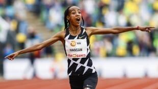 Dutch athlete Sifan Hassan