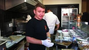 Wareef Hameedo, chef du restaurant Soriana à Gaza.