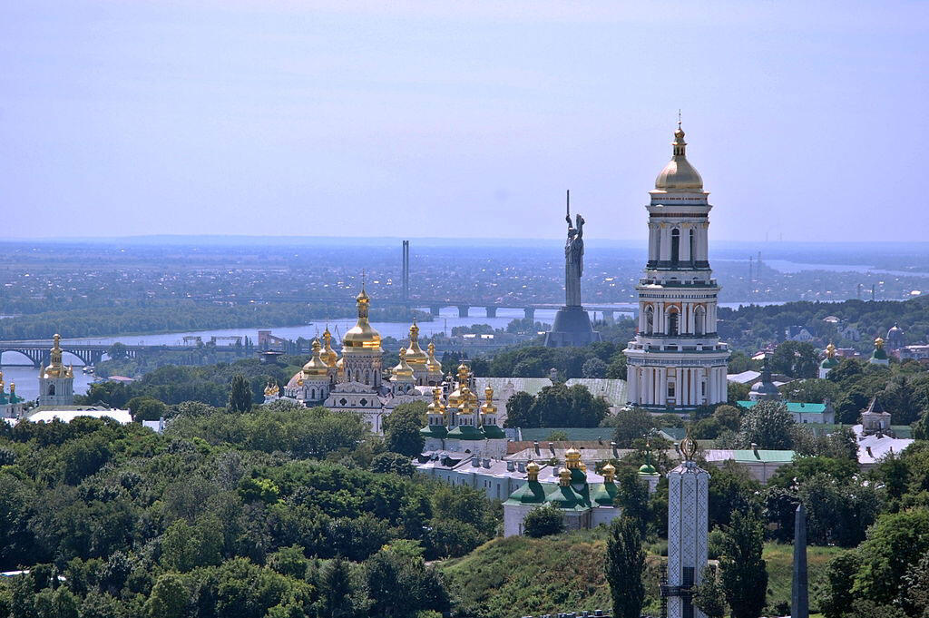 La mère patrie à Kiev en Ukraine.