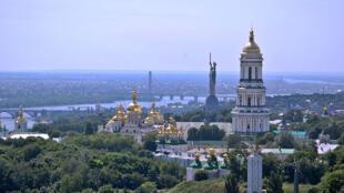 La mère patrie à Kiev, en Ukraine.