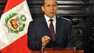 El presidente peruano Ollanta Humala.