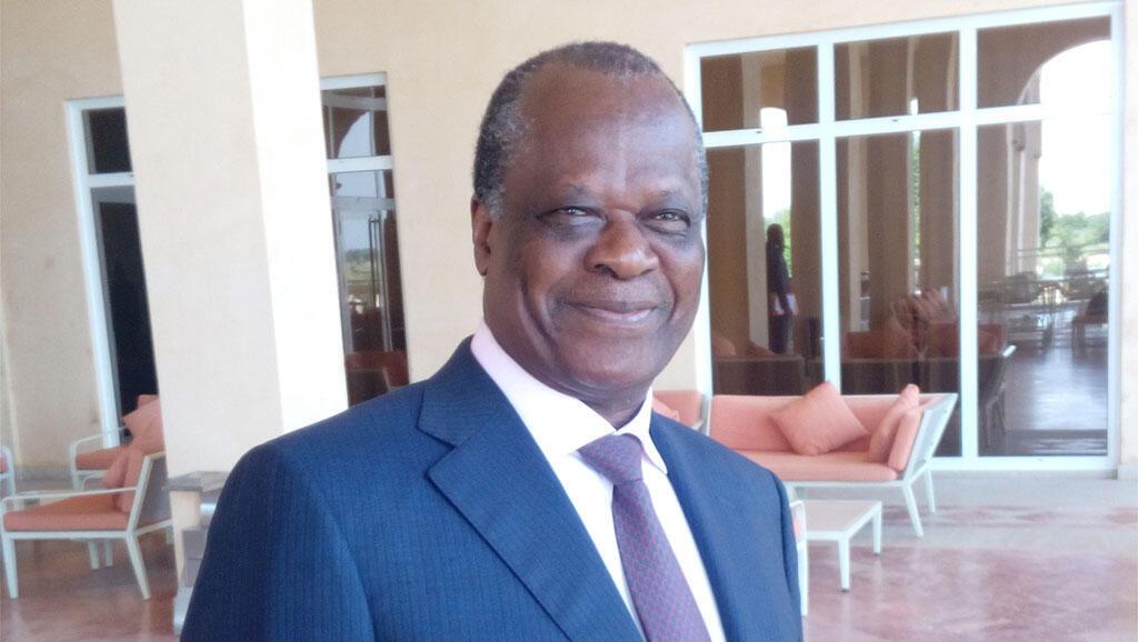 Henri Djombo, ministre d'Etat, ministre de l'Agriculture, de l'Elevage et de la Pêche de la République du Congo.