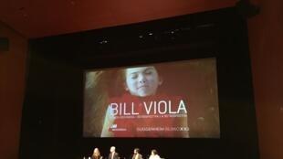 西班牙古根海姆 Bill Viola 展