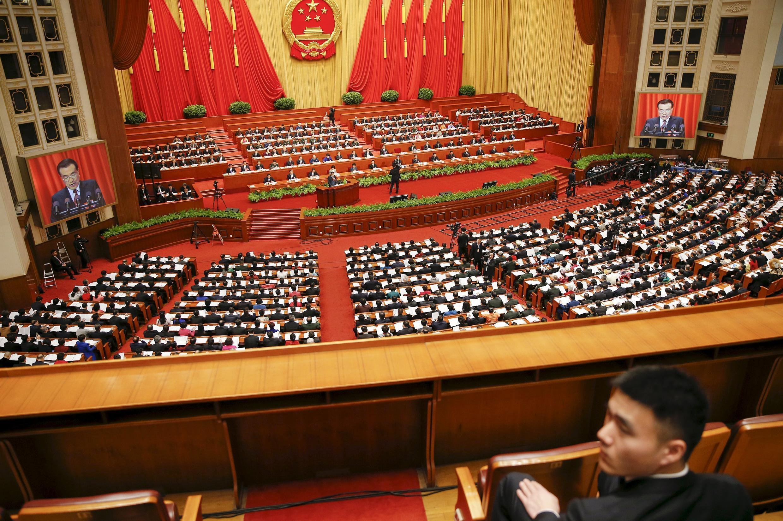 中国北京人大会堂2016年3月5