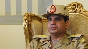 Le maréchal Abdel Fattah al-Sissi.