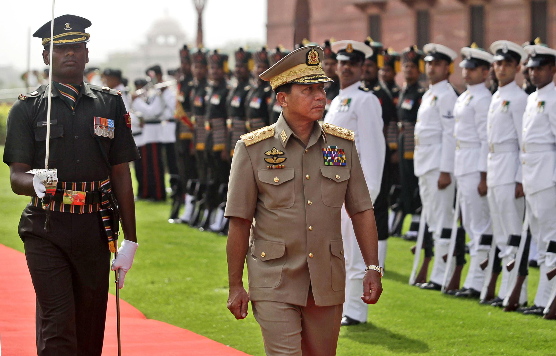 Главнокомандующий бирманскими вооруженными силами Мин Аун Хлаин