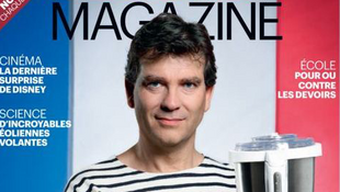 Made in France - Arnaud Montebourg poses for Le Parisien