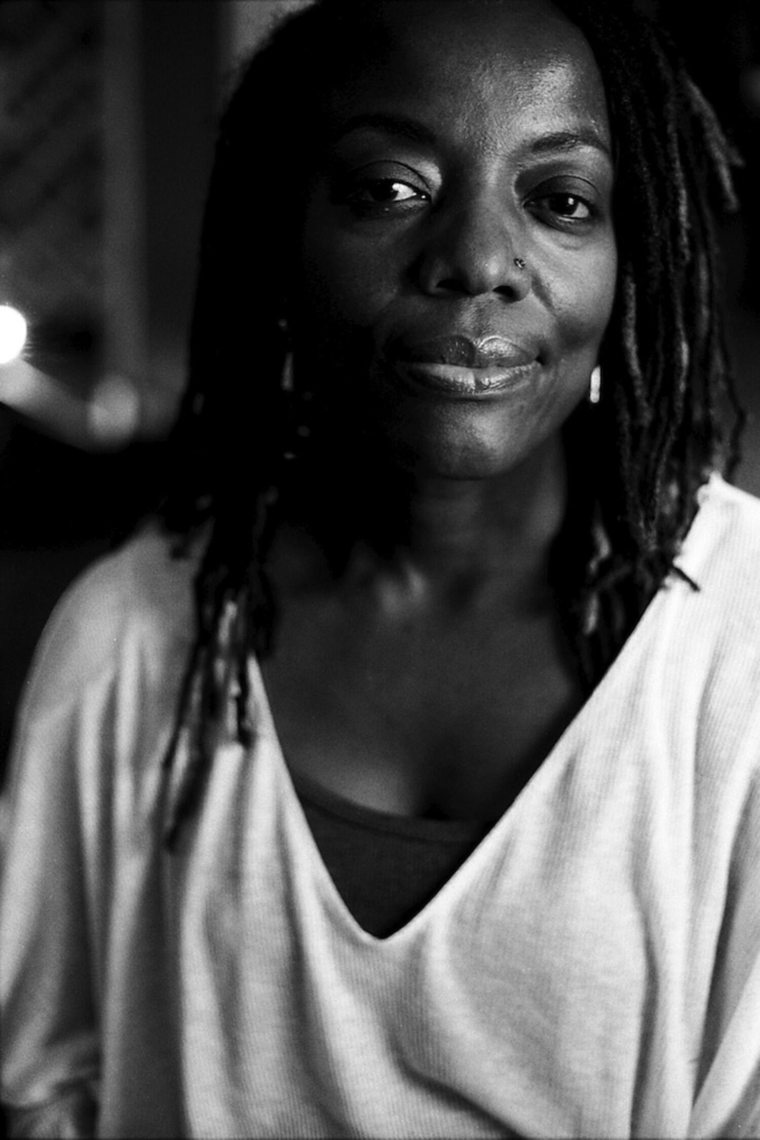 """Zimbabwean novelist Tsitsi Dangarembga, the author of """"This Mournable Body"""""""