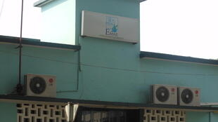 Sede da EMAE, Empresa de Água e Electricidade, em São Tomé.