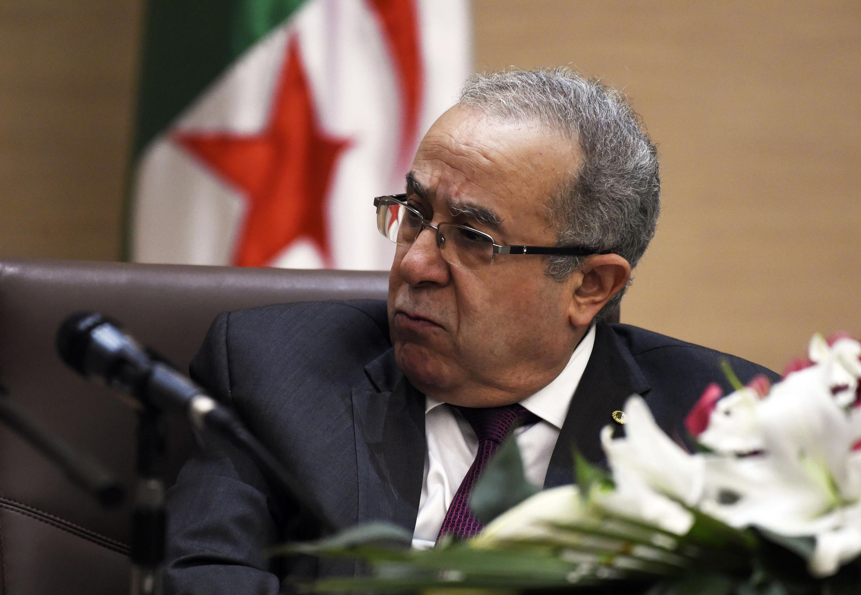 Ramtane Lamamra, ministre des Affaires étrangères de l'Algérie, en février 2016.