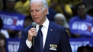 Dan takarar shugabancin Amurka karkashin jam'iyyar Democrats Joe Biden.