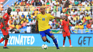 Le Gabonais Mario Lemina lors de la CAN 2017.