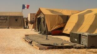 L'antenne medico-chirurgicale de l'armée française dans le camp de réfugiés syriens de Zaatari en Jordanie, le mercredi 15 août 2012.