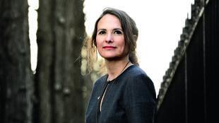 Portrait de la romancière Karine Reysset.