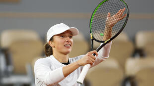 Poland's Iga Swiatek will face qualifier Martina Trevisan in the French Open quarter-finals