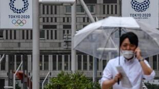 Prévus cet été, les JO de Tokyo ont été reportés à l'été 2021, en raison de la pandémie de coronavirus.