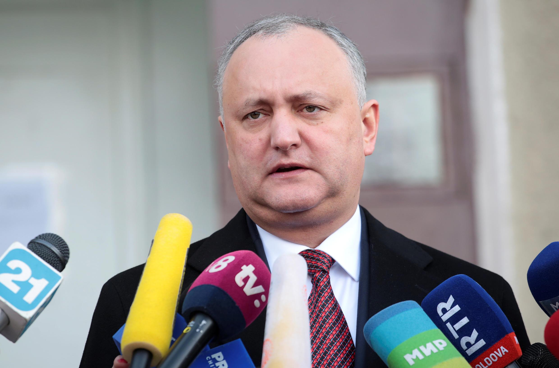 Президент Молдовы, социалист Игорь Додон