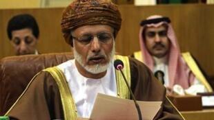 Waziri wa mambo ya kigeni wa Oman Yussef bin Alawi