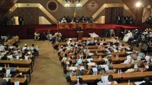 L'Assemblée nationale du Mali à Bamako.