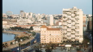 Vue aérienne de Luanda, capitale de l'Angola.