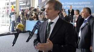 Le commissaire européen Dacian Ciolos.