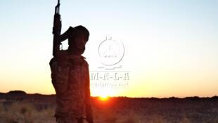 Image d'un combattant du MNLA publiée sur le site internet du mouvement rebelle touareg.