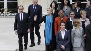 Правительство Франции, 17/05/2012.