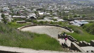 Смотровая площадка крепости Нарын-Кала в дагестанском Дербенте