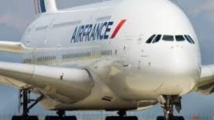 法國航空公司的一架A380客機資料圖片