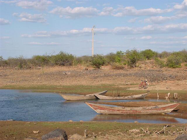 Represa de Itaparica, em Rodelas, na Bahia.