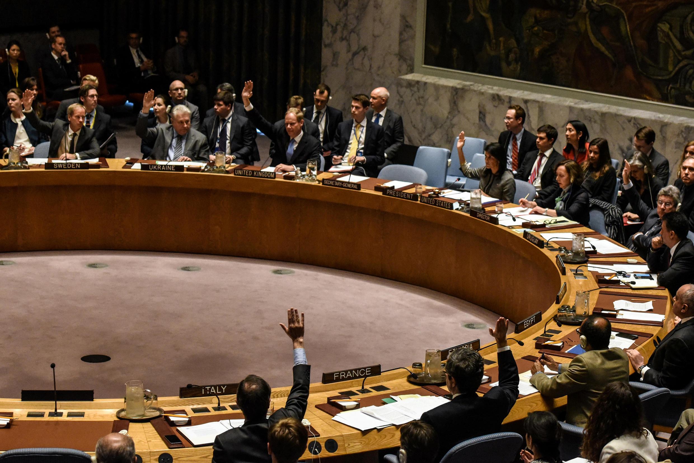 جلسه رأیگیری روز چهارشنبه دوازدهم آوریل در شورای امنیت سازمان ملل متحد برای قطعنامه درباره سوریه