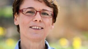 La ex diputada francesa de izquierda Martine Billard.