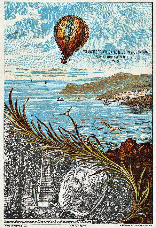 Перелет Бланшара и Джеффриса через Ла-Манш 7 января 1785