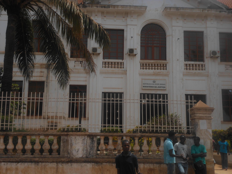 Ministère de la Justice, à Bissau.