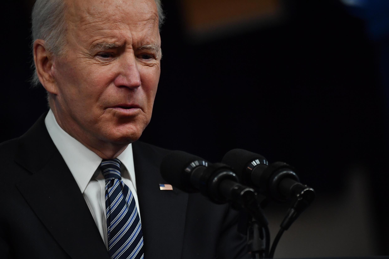 El presidente de Estados Unidos, Joe Biden, habla en la Casa Blanca el 12 de mayo de 2021