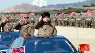 Shugaban Koriya ta Arewa Kim Jong-Un