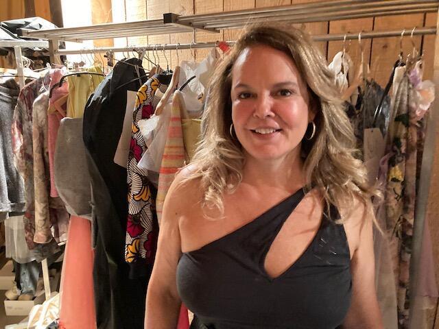 A estilista franco-brasileira Márcia de Carvalho