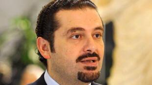 Saad Hariri, Premier ministre libanais.