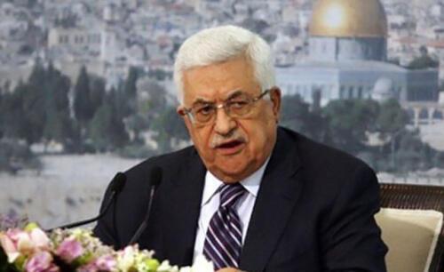 巴勒斯坦主席阿巴斯