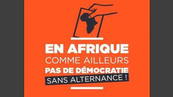 Couverture du rapport «Pas de démocratie sans alternance. En Afrique comme ailleurs», publié par le collectif Tournons la page.