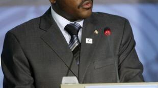 Pierre Nkurunziza, élu nouveau président du Burundi le 19 août 2005.