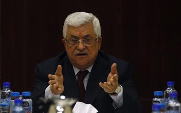 O presidente da Autoridade Palestina Mahmoud Abbas espera o apoio dos europeus durante o voto nas Nações Unidas.