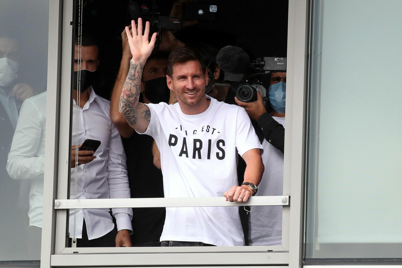 Messi Paris football