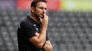 Frank Lampard, entraîneur de Chelsea.