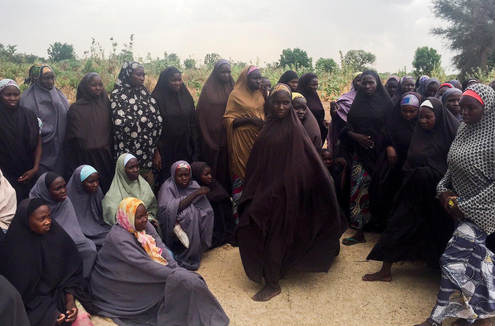 Baadhi ya wasichana wa Chibok wanaoendelea kushikiliwa mateka na Boko Haram