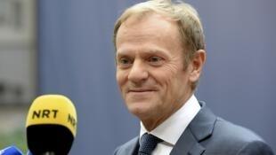 波蘭反對 圖斯克仍成功連任歐洲理事會主席 (2017年3月9日)