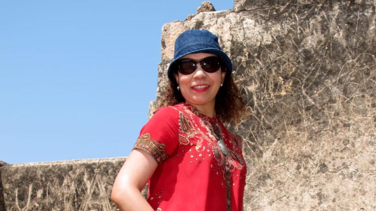 A enfermeira Márcia Alexandrina Carvalho Kumar é moradora de Lucknow e vive na Índia há mais de 20 anos.