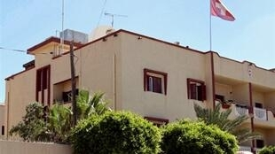 L'ambassade de Suisse à Tripoli.